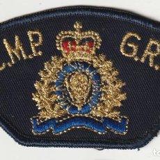 Militaria: POLICIA - POLICE / PARCHE - ÈCUSSON - PATCH. Lote 257379620