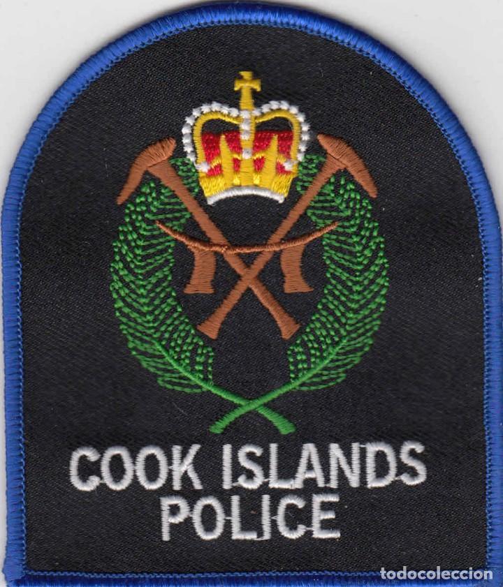 POLICIA - POLICE / PARCHE - ÈCUSSON - PATCH (Militar - Parches de tela )