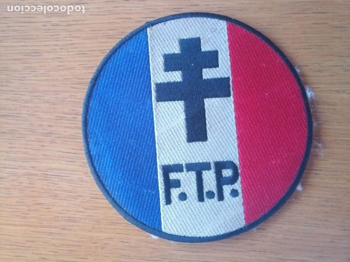 PARCHE TELA FASCISTA NACIONALISTA FRANCES (Militar - Parches de tela )