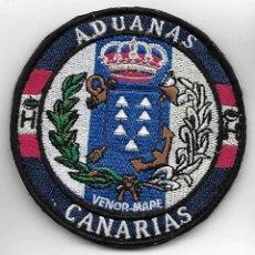 Militaria: PARCHE POLICIA ADUANAS CANARIAS. Lote 261323900
