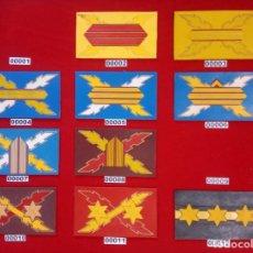 Militaria: LOTE DE GALONES DE PECHO DE LA LEGIÓN. Lote 261325265