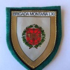Militaria: ESCUDO DE BRAZO, BRIGADA DE MONTAÑA LXI.. Lote 261692280