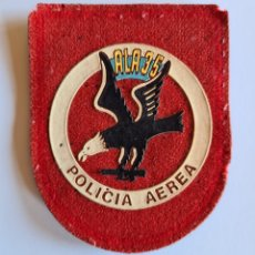 Militaria: PARCHE ALA 35 POLICÍA AÉREA - AERÓDROMO MILITAR GETAFE - AVIACIÓN EJÉRCITO DEL AIRE. Lote 261949800