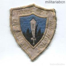 Militaria: ESPAÑA. INSIGNIA DE BRAZO DE OFICIAL DE LA DIVISIÓN FIAMME NERE DEL CORPO TRUPPE VOLONTARIE. Lote 215997942