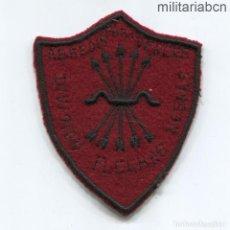 Militaria: INSIGNIA DE BRAZO DE OFICIAL DE LA DIVISIÓN FLECHAS NEGRAS DEL CORPO TRUPPE VOLONTARIE. GUER. Lote 262375315