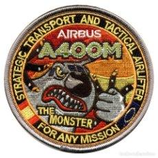 Militaria: PARCHE AIRBUS A400 - EJERCITO DEL AIRE (VELCRO). Lote 263196465