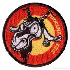 Militaria: PARCHE BHELMA III - FAMET (VELCRO). Lote 263205905