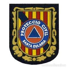 Militaria: PARCHE PROTECCION CIVIL - SANTA EULARIA. Lote 265118099