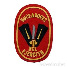 Militaria: PARCHE BUCEADORES DEL EJERCITO - MILITAR (PEQUEÑO). Lote 265118819