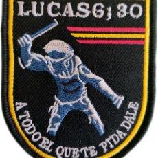 Militaria: POLICÍA NACIONAL CNP LUCAS 6:30 A TODO EL QUE TE PIDA, DALE PARCHE INSIGNIA EB01776. Lote 266585368
