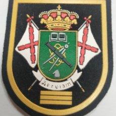 Militaria: PARCHE EMBLEMA DE BRAZO A COLOR DEL INSTITUTO POLITÉCNICO TERCER CURSO 7,8×6,7 CMS. Lote 269101053
