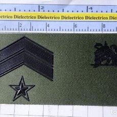Militaria: PARCHE GALLETA EMBLEMA DE PECHO MILITAR. ESPECIALISTAS EJÉRCITO ESPAÑOL. SUBOFICIAL MAYOR. Lote 269324303