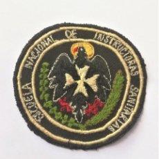Militaria: PARCHE TELA ESCUELA NACIONAL INSTRUCTORAS SANITARIAS. Lote 269616413