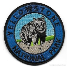 Militaria: PARCHE USA PARQUE NACIONAL DE YELLOWSTONE. Lote 269702858