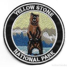 Militaria: PARCHE USA PARQUE NACIONAL DE YELLOWSTONE. Lote 269702903