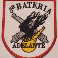 Militaria: PARCHE EMBLEMA DE BRAZO BORDADO A COLOR DE LA TERCERA B.I.A BRILAT. Lote 269754808
