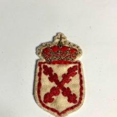 Militaria: 345.ANTIGUO Y MUY RARO PARCHE REQUETE CARLISTA BORDADO EN HILO DE TELA Y DE METAL. Lote 272154318