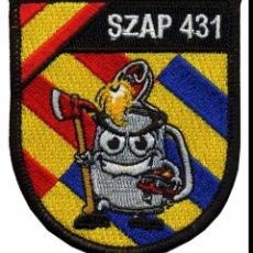 Militaria: PARCHE UME - UNIDAD MILITAR DE EMERGENCIAS (VELCRO). Lote 274177158