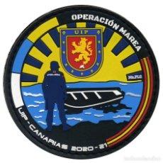Militaria: PARCHE UIP - OPERACIÓN MAREA - CANARIAS 2020-21 - POLICÍA NACIONAL. Lote 274607998