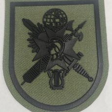 Militaria: PARCHE EMBLEMA DE BRAZO VERDE DE LA ACADEMIA CENTRAL DE LA DEFENSA. Lote 275572283