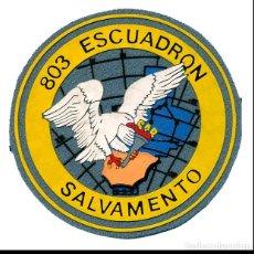Militaria: PARCHE 803 ESCUADRON SAR - EJERCITO DEL AIRE. Lote 275932583
