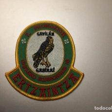 Militaria: PARCHE POLICÍA ERTZAINTZA. Lote 276151883