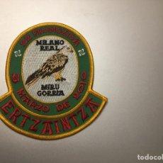 Militaria: PARCHE POLICÍA ERTZAINTZA. Lote 295498378