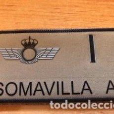 Militaria: PARCHE EMBLEMA ESCUDO EJERCITO ESPAÑOL ALAS DE PILOTO EJERCITO AIRE CON VELCRO SOMAVILLA A+. Lote 276199983