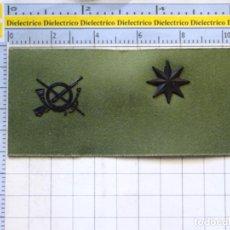 Militaria: PARCHE GALLETA EMBLEMA DE PECHO MILITAR. INFANTERÍA. COMANDANTE. Lote 276278178