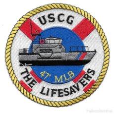 Militaria: PARCHE USA USCG GUARDACOSTAS. Lote 276337938
