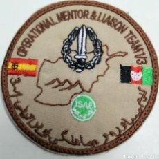 Militaria: PARCHE EMBLEMA BORDADO OPERATIONAL MENTOR & LIAISION. Lote 277648193