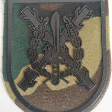 Militaria: PARCHE EMBLEMA DE BRAZO CAMUFLAJE BOSCOSO DEL MANDO DE OPERACIONES ESPECIALES EN NEGRO. Lote 278395243