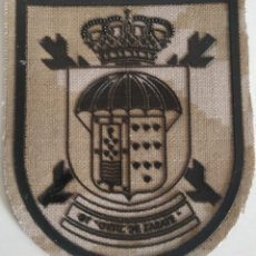 Militaria: PARCHE EMBLEMA DE BRAZO ÁRIDO DEL GT ORTIZ DE ZÁRATE BRIPAC. Lote 278396848