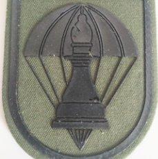 Militaria: PARCHE EMBLEMA DE BRAZO VERDE CON VELCRO UNIDAD DE INTELIGENCIA BRIPAC. Lote 278432203
