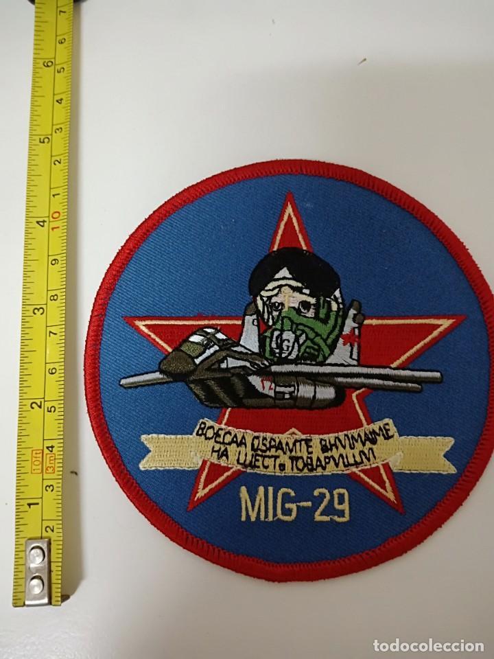PARCHE MILITAR MIG-29 (Militar - Parches de tela )