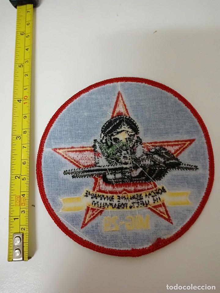 Militaria: Parche militar MIG-29 - Foto 2 - 279552543