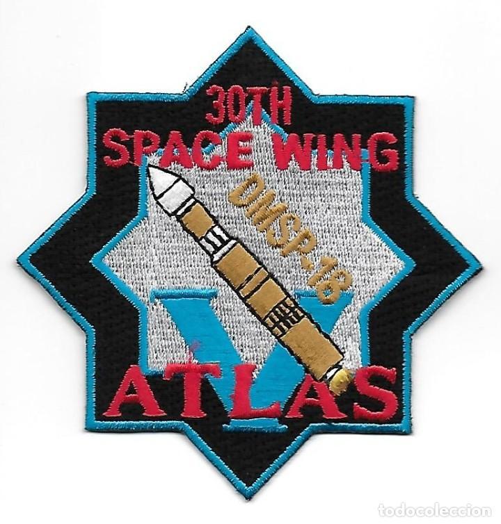 PARCHE USAF 30 SPACE WING ATLAS DMSP 18 (Militar - Parches de tela )