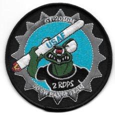 Militaria: PARCHE USAF 30 SW RANGE TEAM GT201GM. Lote 279565403