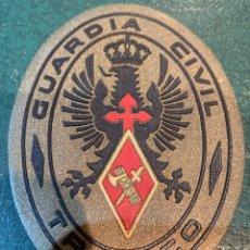 Militaria: PARCHE OVALADO GUARDIA CIVIL TRÁFICO. Lote 280445803