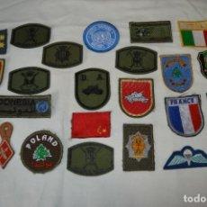 Militaria: GRAN LOTE / COLECCIÓN 25 DE PARCHES Y OTROS / MILITARES ESPAÑA Y OTROS PAÍSES ¡MIRA FOTOS/DETALLES!. Lote 280502918