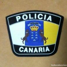 Militaria: PARCHE EMBLEMA ESCUDO DE BRAZO.POLICIA LOCAL CANARIA. Lote 294506818