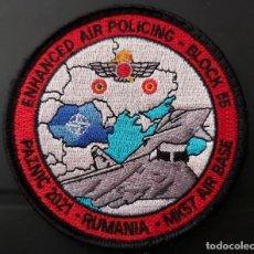 Militaria: PARCHE EJERCITO AIRE ALA 11 BALTIC AIR POLICING NUEVO. Lote 286480558