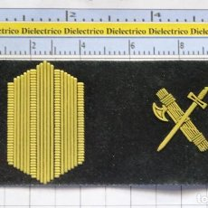 Militaria: ANTIGUO PARCHE GALLETA EMBLEMA DE PECHO MILITAR. GUARDIA CIVIL. CABO. Lote 287013943