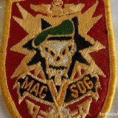 Militaria: PARCHE AMERICANO. MAC SOG. COMANDO DE ASISTENCIA MILITAR EN VIETNAM.. Lote 288061928