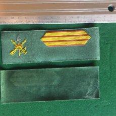 Militaria: LA LEGIÓN, TIRA DE DIVISA SARGA SARGENTO. Lote 288574728
