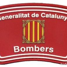 Militaria: PARCHE BOMBEROS GENERALITAT DE CATALUNYA - VELCRO. Lote 289624553