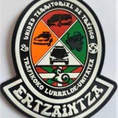 Militaria: PARCHE POLICIA ERTZAINTZA TRAFICO. Lote 289892123