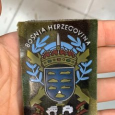 Militaria: TELA PARCHE MILITAR BOSNIA HERZEGOVINA CANARIAS CORONEL CAMARERO ALENDA LEGION LEGIONARIO 5X7CMS. Lote 291510208