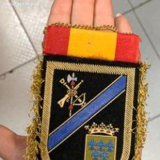 Militaria: PARCHE TELA CORONEL CAMARERO ALENDA DOBLE CARA BANDERA ESPAÑOLA LEGION LEGIONARIO TERCIO 11,5X7C. Lote 291516373