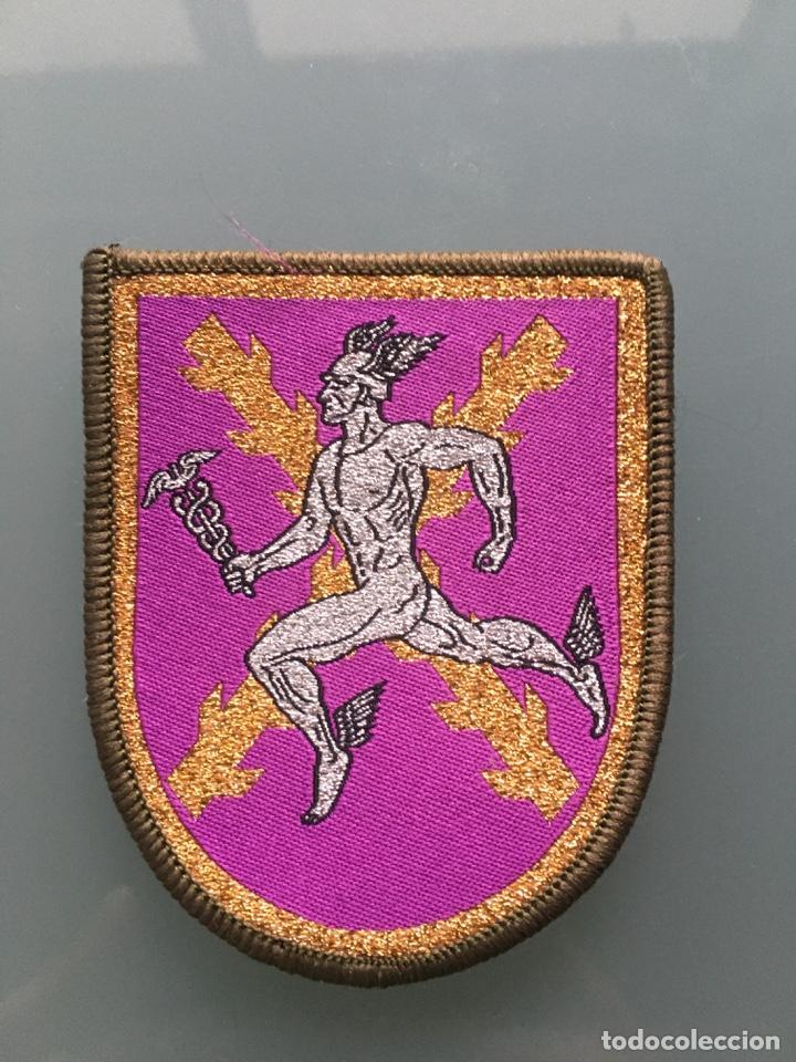 PARCHE - MANDO DE TRANSMISIONES (Militar - Parches de tela )